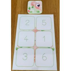 singe puzzle de 6